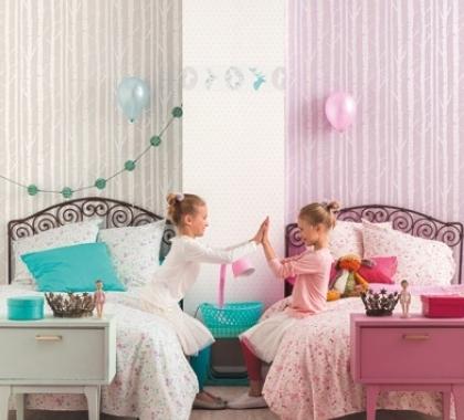 Dětské tapety a samolepky