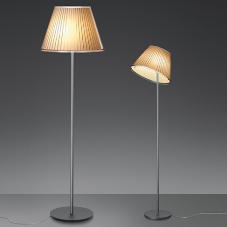 Artemide – stojací lampa Choose pergamen/šedá