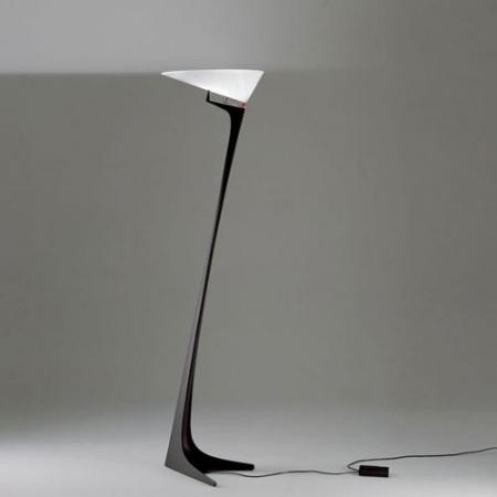 Artemide – stojací lampa Montjuic černá/bílá