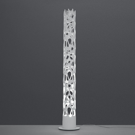 Artemide – stojací lampa New Nature bílá
