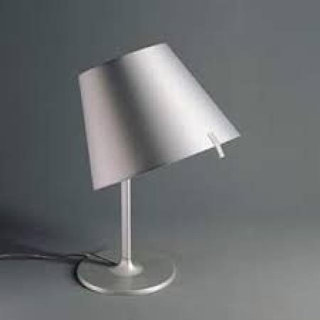 Artemide – stolní svítidlo Melampo Table šedé