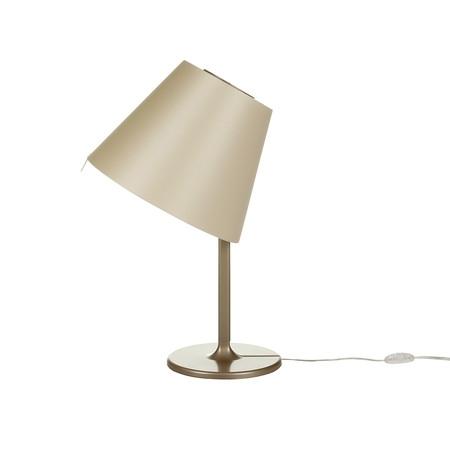 Artemide – stolní svítidlo Melampo Table bronz/přírodní