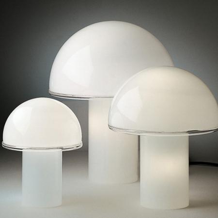 Artemide – stolní svítidlo Onfale bílá