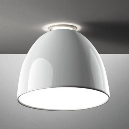 Artemide – stropní svítidlo Nur Gloss bílá
