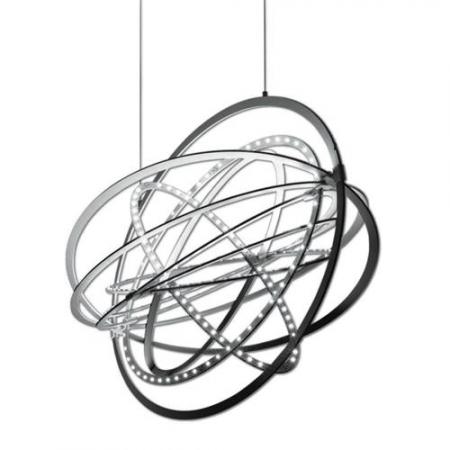 Artemide – závěsná svítidla Copernico hliník