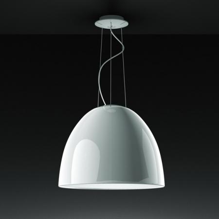 Artemide – závěsná svítidla Nur Gloss bílá