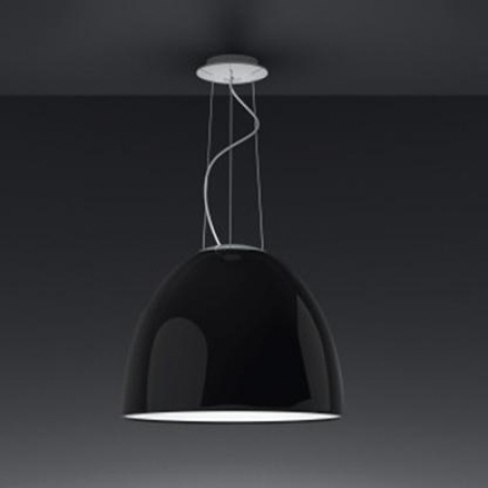 Artemide – závěsná svítidla Nur Gloss černá