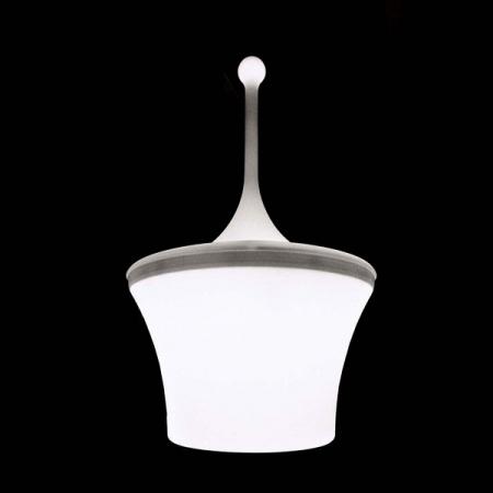 Artemide – závěsné svítidlo Calenda bílé