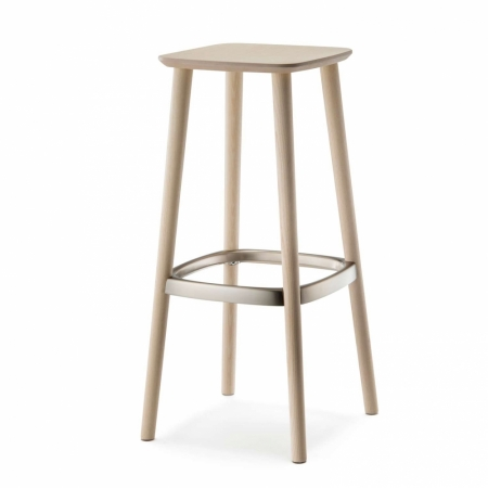 Sada 2 barových židlí Babila 2702 bělený dub, Pedrali
