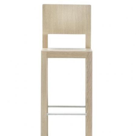 Sada 2 barových židlí Brera 382 bělený dub, Pedrali