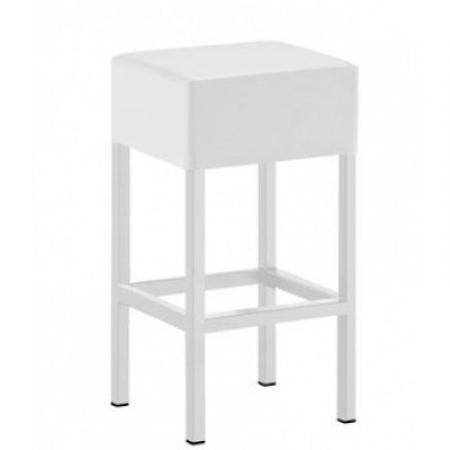 Sada 4 barových židlí Cube 1402 bílá, Pedrali