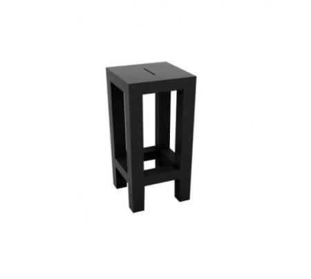 Barová židle Jut Bar černá, Vondom