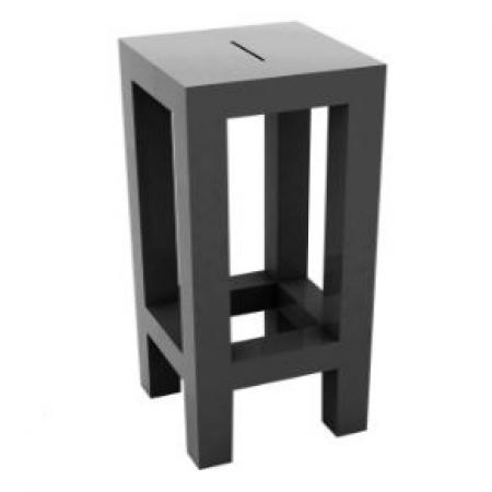 Barová židle Jut Bar antracitová, Vondom