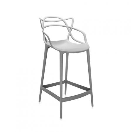 Barová židle Masters Stool šedá, Kartell