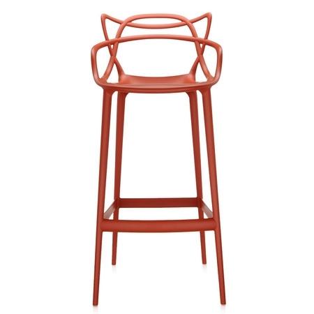 Barová židle Masters Stool oranžová, Kartell