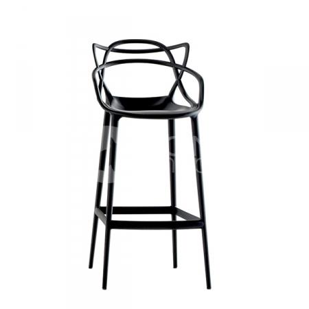 Barová židle Masters Stool černá, Kartell