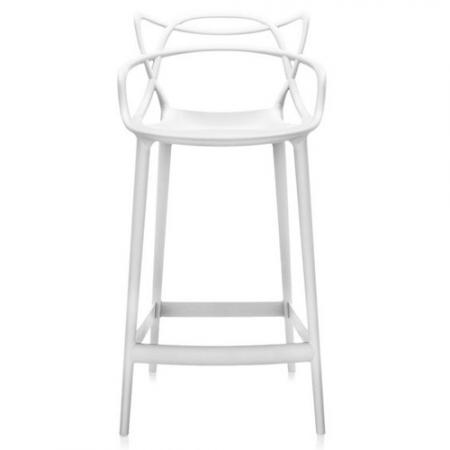 Barová židle Masters Stool bílá, Kartell