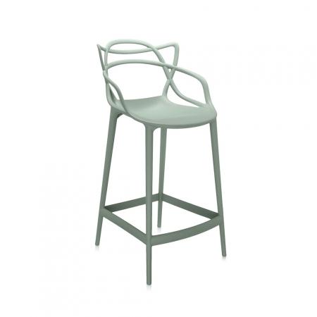 Barová židle Masters Stool khaki, Kartell