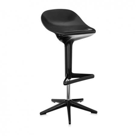 Barová židle Spoon černá, Kartell