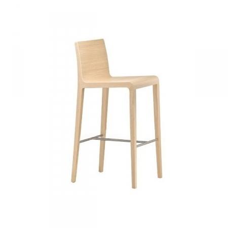Sada 2 barových židlí Young 426 bělený dub, Pedrali