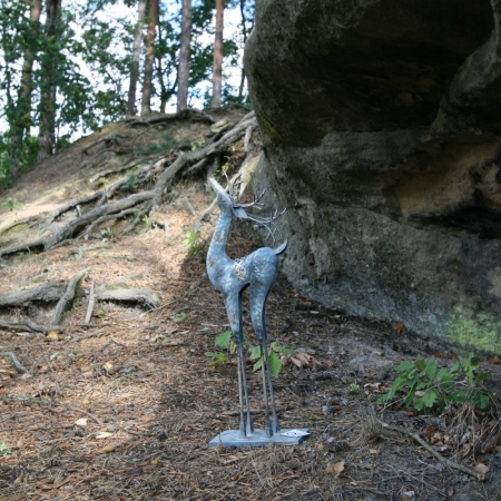 Dekorační jelen