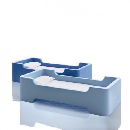 Dětská postel Bunky světle modrá, Magis me too