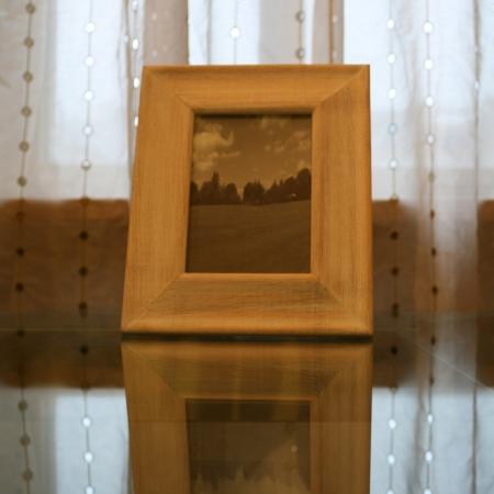 Dřevěný rámeček bělený dub