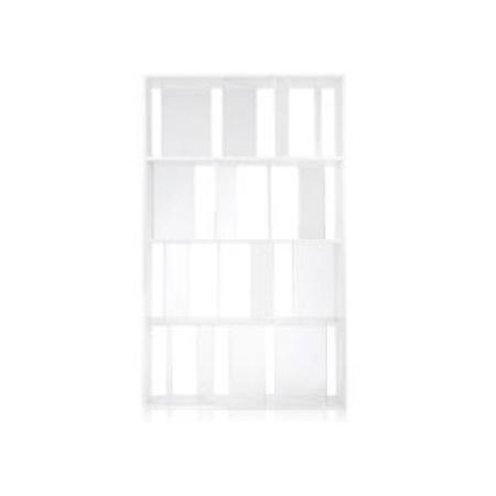 Knihovna Sundial bílá/čirá, Kartell