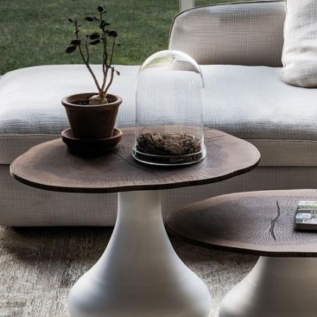 konferenční stolek Rio bílá/ořech, Cattelan Italia