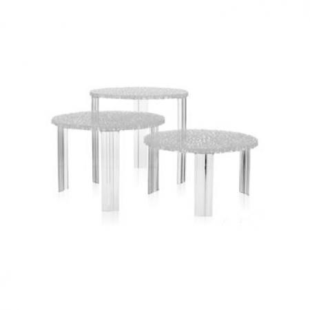 Konferenční stolek T-TABLE čirá, Kartell