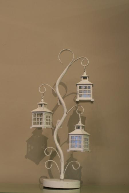 Kovová lucerna bílá, Casa de Engel