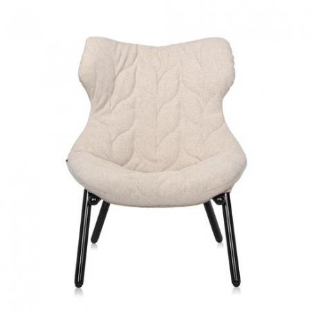 Křeslo Foliage béžové (100% polyester Trivira), Kartell