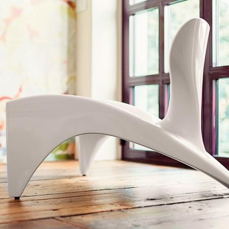Křeslo Isetta bílé, Slide design