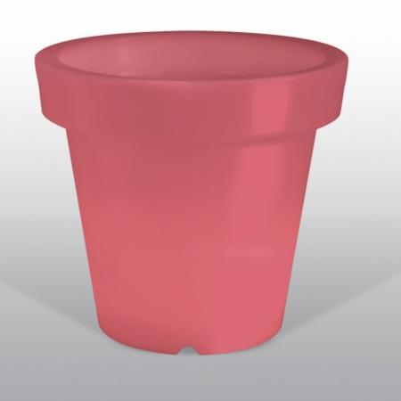 Květináč BLOOM Pot 90, 100 svítící červený, Bloom