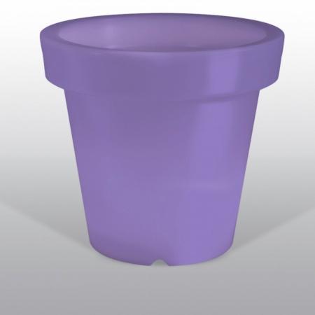 Květináč BLOOM Pot 90, 100 svítící fialový, Bloom
