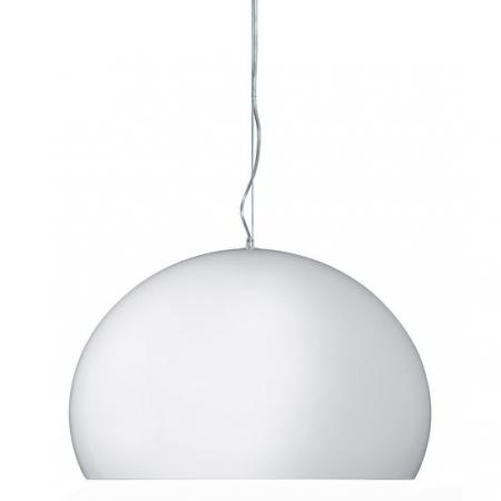 Matné závěsné svítidlo small Fly bílé, Kartell