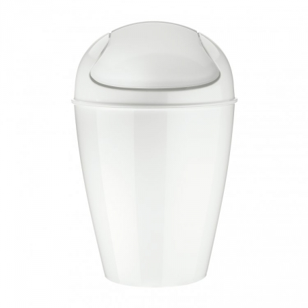 Odpadkový koš  Del M bílý, Koziol