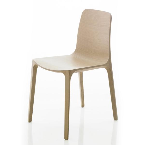 Sada 2 židlí Frida 752 bělený dub, Pedrali