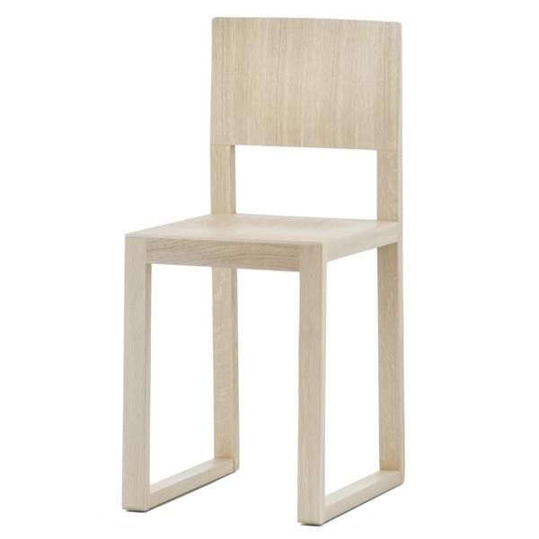 Sada 2 židlí Brera 380 bělený dub, Pedrali