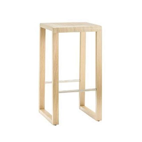 Sada 2 barová stoliček Brera 387 bělený dub, Pedrali