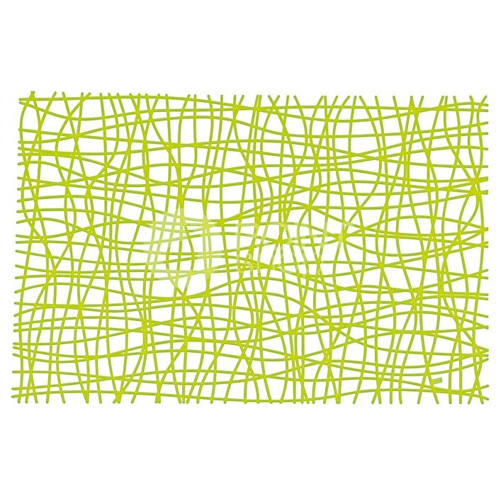 Prostírání Silk transp. olivová, Koziol