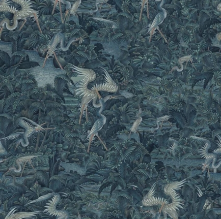 Panel Onirique Cala Luna prussian blue, Decoprint