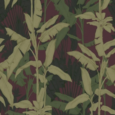 Panel Onirique Adeleburgundy forest, Decoprint