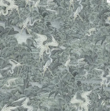 Panel Onirique Cala Luna seal grey, Decoprint