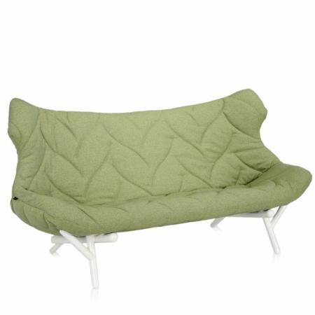 Pohovka Foliage zelená (100% polyester Trevira), Kartell