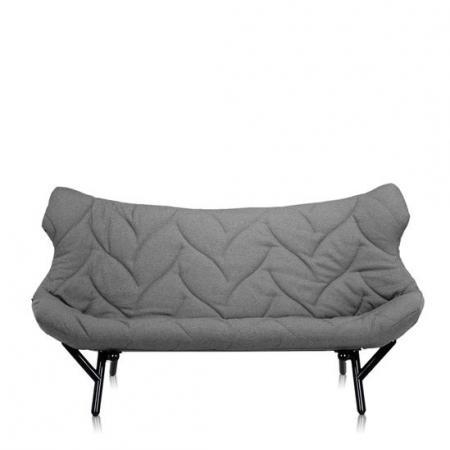 Pohovka Foliage šedá (100% polyester Trevira), Kartell