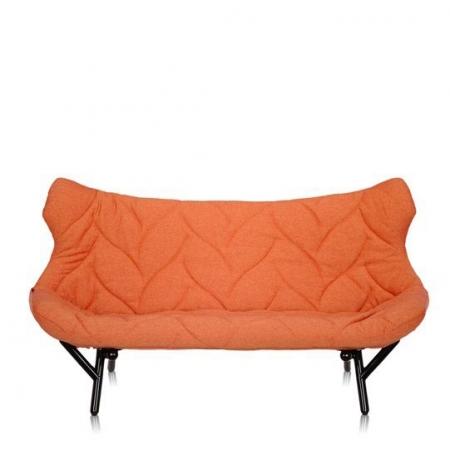 Pohovka Foliage oranžová (100% polyester Trevira), Kartell