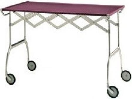 Pojízdný stolek Battista švestková, Kartell