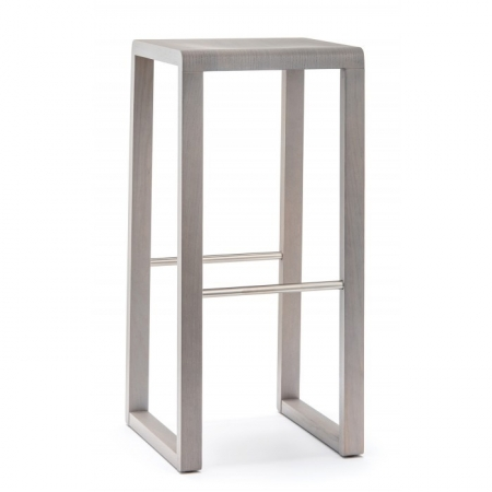 Sada 2 barová stoliček Brera 387 světle šedá, Pedrali