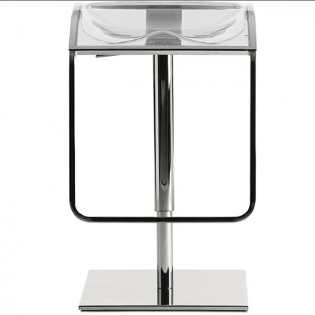 Sada 2 barových židlí Arod 570 čirá, pedrali